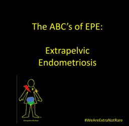 Blurb.com Softback 7 x 7 The ABCs of EPE Extrapelvic Endometriosis